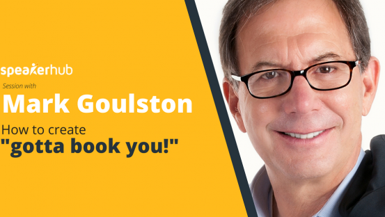 """MasterClass with Dr. Mark Goulston : How to create """"gotta book you!"""""""