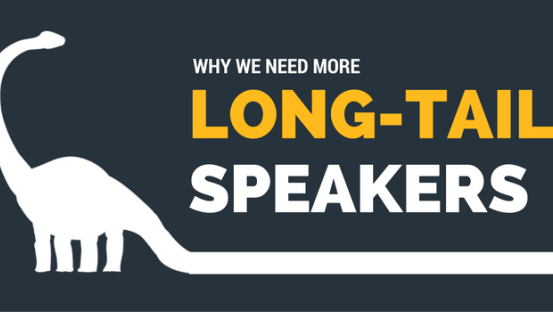 """Why we need more """"long-tail"""" speakers"""