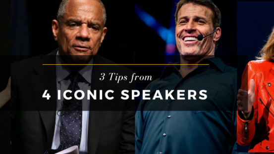 Tips from iconic speakers that will teach you about giving great talks
