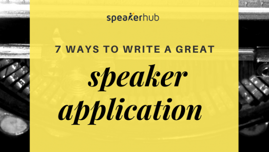 7 ways to write a great speaker application