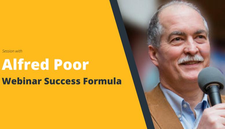 MasterClass: Webinar Success Formula with Alfred Poor