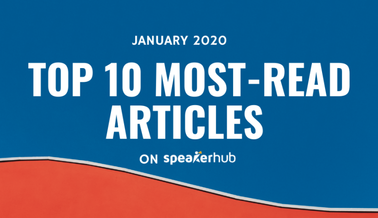 Top 10 most-read articles on SpeakerHub