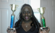 Toastmasters First Place Winners Trophies