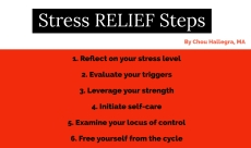 Stress Relief Steps