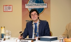 President of Tralee Toastmasters
