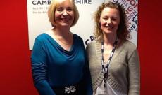 Guest on BBC Radio Cambridgeshire
