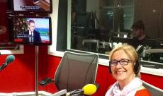 Guest at BBC Radio Cambridge