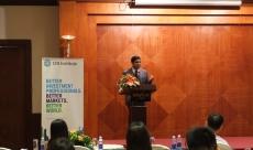 Sameer speaks at CFA Society Vietnam
