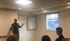 Deepak Shukla hosting a Meetup Event