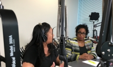 Shayla Reneé sharing life wisdom during special guest appearance on the Michele Speaks Radio show