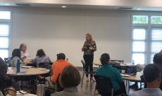 Interviewing presentation at JAM - Job Assistance Ministries