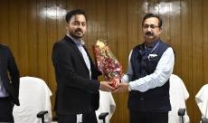 Felicitated at BCE Patna