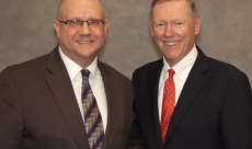 Michael and Former Ford CEO Alan Mulally