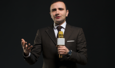 Vladimer Botsvadze delivers a marketing talk worldwide
