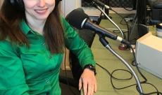 Speaking on live radio 'Small Biz Matters'