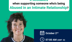 Are you making one of these 4 Mistakes when supporting someone who's being Abused in Intimate Relationship?