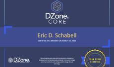 DZone Core Member Certificate