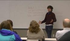 """Panel """"Being Positive"""" Madison Equality, James Madison University 2014"""