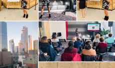 Featured speaker at Amazon on work-life balance, productivity and employee wellbeing best practices