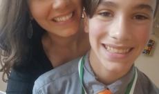 Sarah & Cam after his elementary school graduation